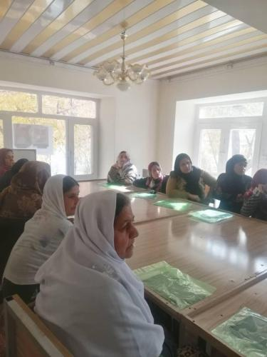 Naweyan Nawed LTD. Organized a Training for 50 Women in Dry Fruit Processing in 2019.