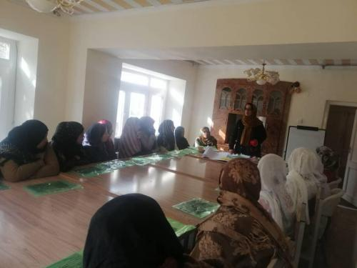 NNL Created Jobs for 50 Women in its Dry Fruits Processing Facility in Parwan
